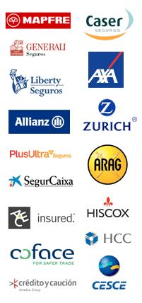 Aseguradoras con las que trabaja Galica