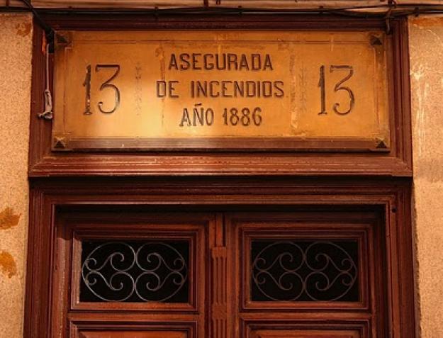 Casa asegurada de incendios