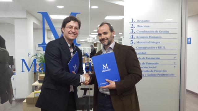 Acuerdo entre Galica y Fundación Manantial